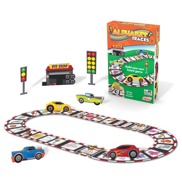 Junior Learning Alphabet Tracks - Build Your Own Board Game