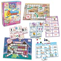 Junior Learning Spelling Games - Set of 6 Different Games