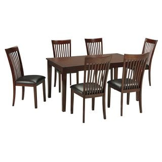 Signature Design By Ashley Mallenton Medium Brown Dining Room Set Of 7