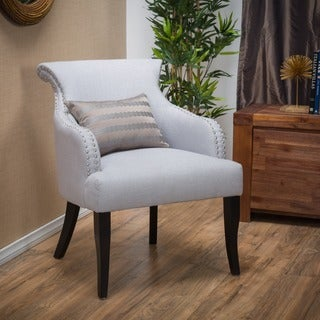 Christopher Knight Home Filmore Fabric Arm Chair in Light Grey(As Is Item)