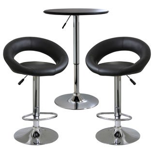 AmeriHome Classic Relaxed Bistro Set - 3 Piece
