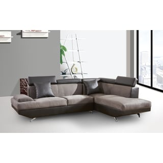 Genoa Right Hand Facing Sectional Brown