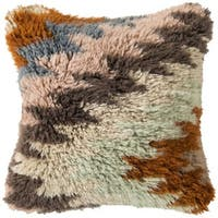 Decorative Angeles 22-inch Feather Down or Polyester Filled Pillow