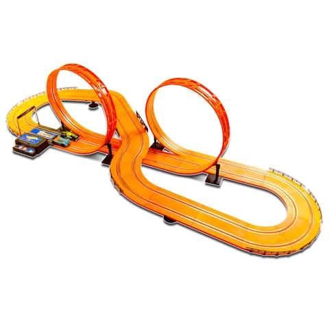 Hot Wheels Electric 20.7-foot Slot Track - Orange