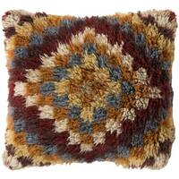 Decorative Annes 22-inch Down or Polyester Filled Pillow