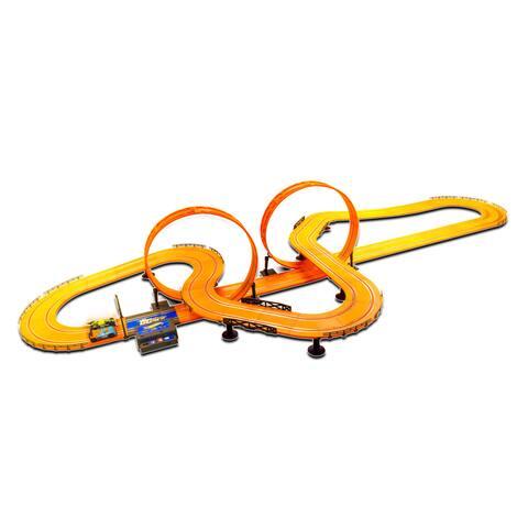 Hot Wheels Electric 30-foot Slot Track - Orange
