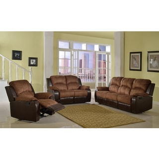 Brown Fulton Reclining Sofa Set