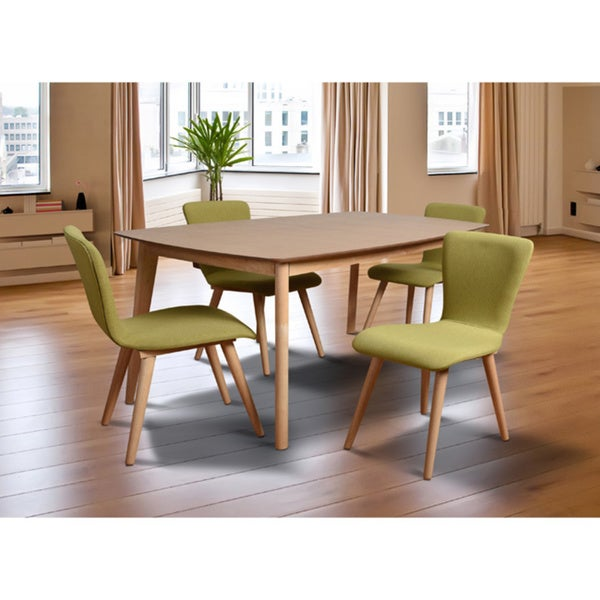 Dalia mid century 5 piece living room dining set green for 5 piece living room set