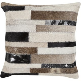 Decorative Amsterdam 20-inch Down or Polyester Filled Pillow