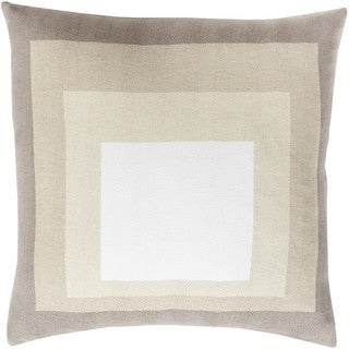 Decorative Ane 18-inch Down or Polyester Filled Pillow