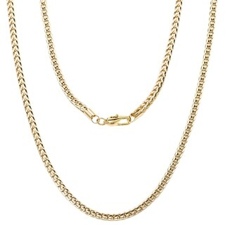 Simon Frank Designs 'FRANCO' 14k Yellow Gold or Rhodium Overlay Chain