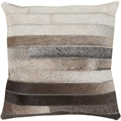 Decorative Andrassy 18-inch Feather Down or Polyester Filled Pillow