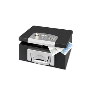 STEELMASTER Electronic Security Cash Box, 12.8 x 10.04 x 5.53 Inches, Black (22104) by MMF Industries