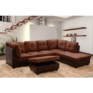 Siano Brown Right Hand Facing Sectional