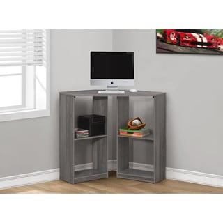 Monarch Grey Corner 36-inch Computer Desk