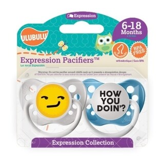 Personalized Pacifiers How you Doin' Emoji 6-18 Months Boy