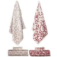 Enchante Geo 3-piece Turkish Towel Set