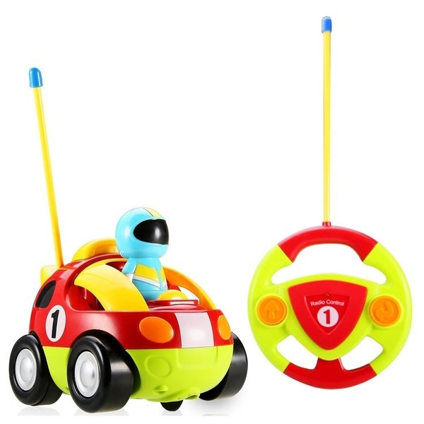 Cartoon Series Toddler Red R/C Radio Control Lil' Racer