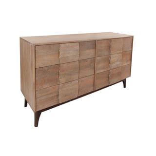 Aurelle Home Puckett 6-Drawer Dresser