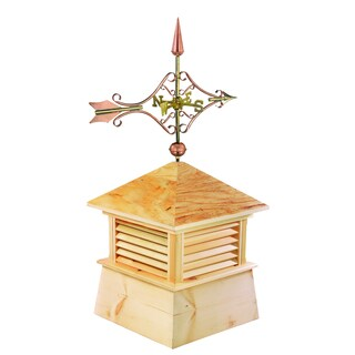 18-inch Square Kent Wood Cupola with Cottage Victorian Arrow by Good Directions