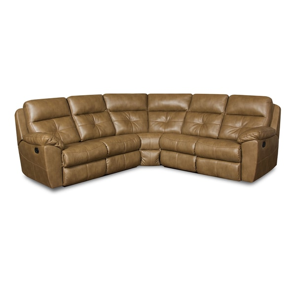 Simmons Upholstery Bradford Toast Motion Sectional - Free Shipping Today - Overstock.com - 18297702  sc 1 st  Overstock.com : simmons sectional sofa - Sectionals, Sofas & Couches
