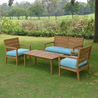 Teak Outdoor Sofas Chairs Amp Sectionals For Less Overstock