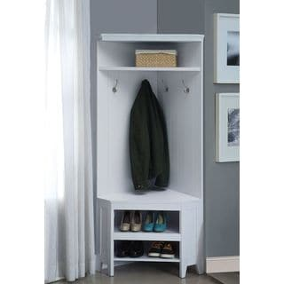 Yerba Linda Corner Hall Tree with Storage