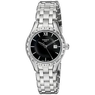 Tissot Women's T0720101105800 'Lady' Black Stainless Steel Watch