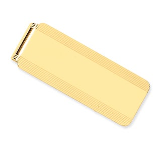 Versil 14k Yellow Gold Money Clip