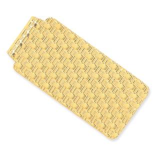 Versil 14 Karat Yellow Gold Dimpled Money Clip https://ak1.ostkcdn.com/images/products/11320517/P18297851.jpg?impolicy=medium