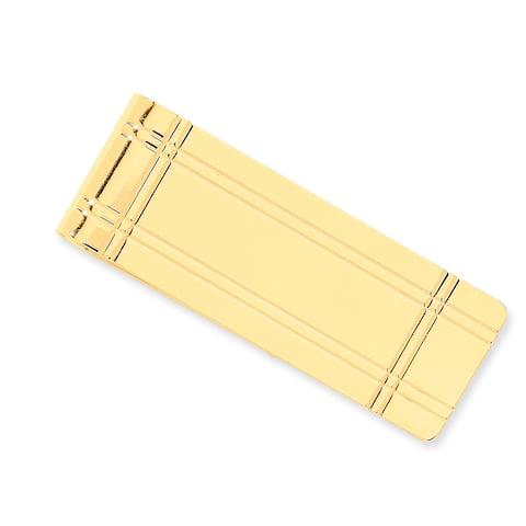 14 Karat Yellow Gold Money Clip by Versil