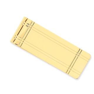Versil 14k Yellow Gold Money Clip