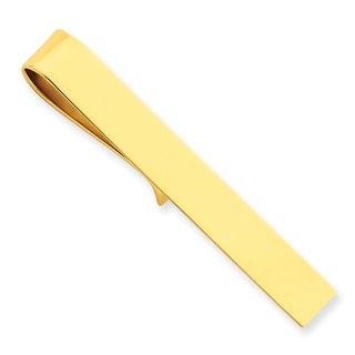 Versil 14k Yellow Gold Tie Bar