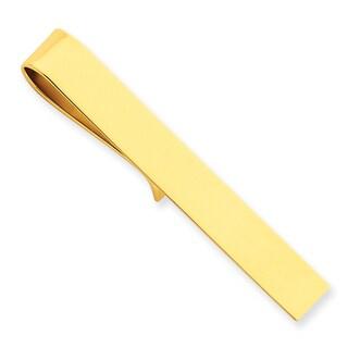 Versil 14 Karat Yellow Gold Tie Bar
