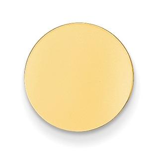 Versil 14k Yellow Gold Round Tie Tac