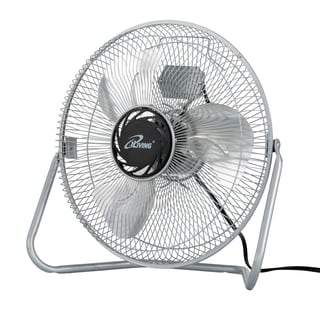 iLIVING 12-inch 3-Speed High Velocity Floor Fan