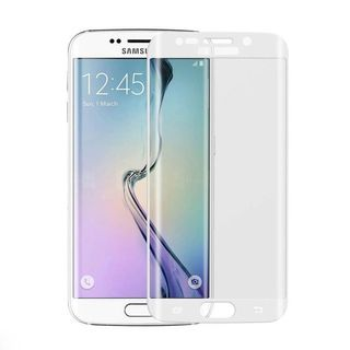 INSTEN Clear Tempered Glass Screen Protector for Samsung Galaxy S6 Edge in Assorted Colors