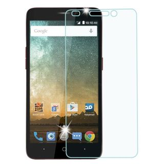 INSTEN Clear Transparent Tempered Glass Screen Protector for ZTE Prestige