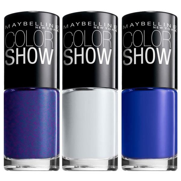 Maybelline New York Color Show Nail Lacquer 3-piece Kit - Free ...