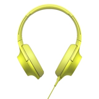 Sony h.ear MDR100AAPY Premium Hi-Res Stereo Headphones, Lime Yellow