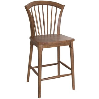 Candler Contemporary Tapered Windsor Barstool