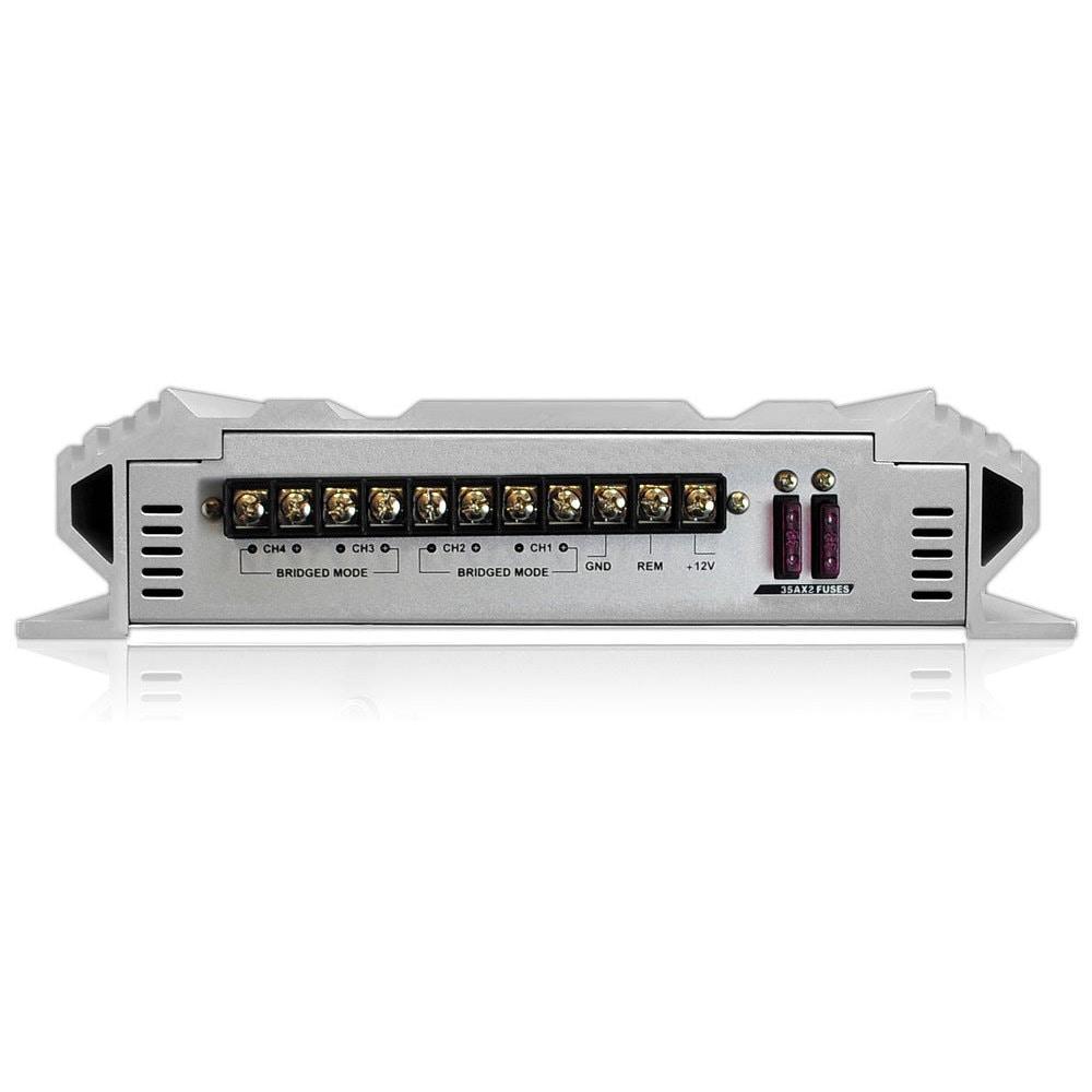New Lanzar Vibe 2000 Watt 4 Channel Mosfet Amplifier