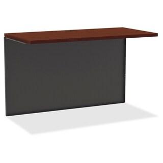 Lorell Mahogany Laminate/Ccl Modular Desk Series