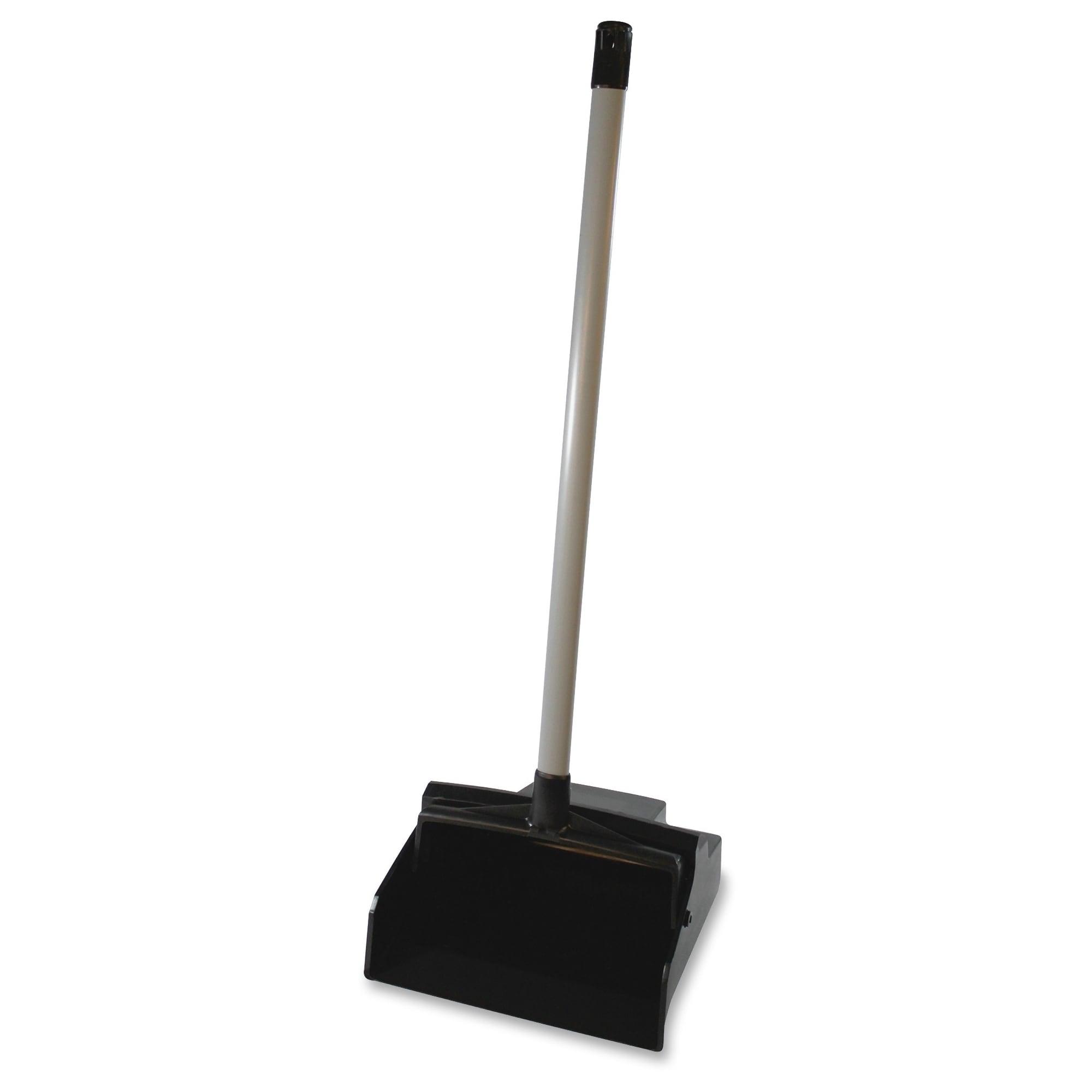Genuine Joe Lobby Dust Pan (Master), Black (Plastic)