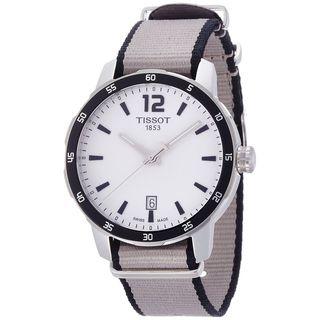 Tissot Men's T0954101703700 'Quickster' Extra Bands Grey Nylon Watch