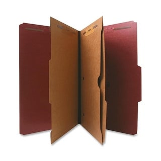 Nature Saver Classification Folder with Pocket Divider - (1/Box)