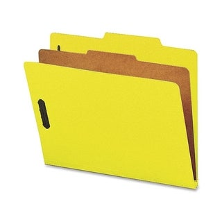 Nature Saver Colored Classification Folder - (10/Box)