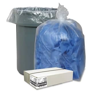 Nature Saver Clear Recycled Trash Can Liner - (100/Carton)|https://ak1.ostkcdn.com/images/products/11321114/P18298332.jpg?impolicy=medium