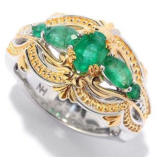 One-of-a-kind Michael Valitutti Zambian Emerald Ring