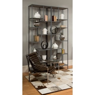 Safavieh Couture High Line Collection Franchesca Antique Oak Etagere